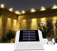 solar deck lights with motion sensor