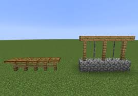 Simple Mobproof Jumpable Fence Designs Via R Minecraft Pacosite S Blog
