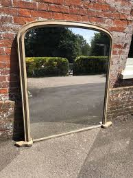 19th century arched top painted