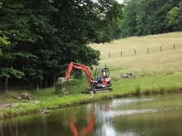 backhoe excavator bucket rake
