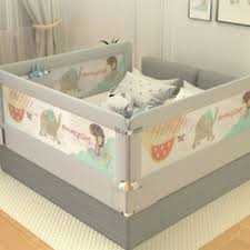 To Happy 2m 1 8m Universal Baby Bed Rail Safety Guardrail Use Bed Fence Ebay