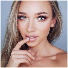 makeup for blonde hair green eyes