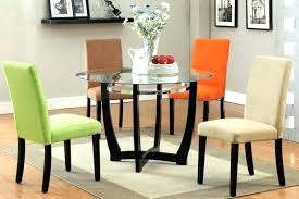 licious round wood dining table for 6