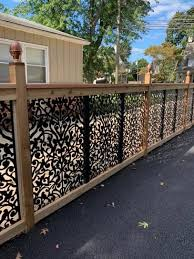 User Submitted Photo Decorative Screen Panels Garden Fence Panels Backyard Fence Decor