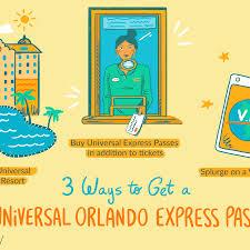 universal express p in orlando