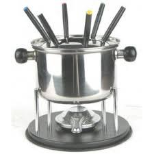 snless steel chocolate fondue