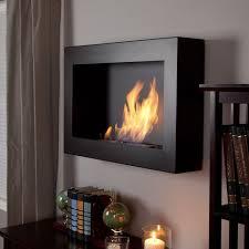 anywhere fireplace soho black satin