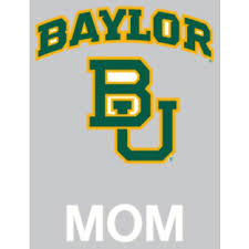 Baylor Bears 4x5 Mom Decal Fans United