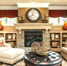 above fireplace ideas cable box where