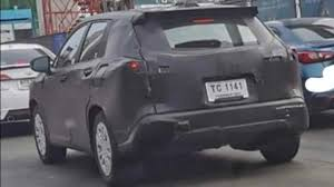 Toyota Corolla Cross Spied For The First Time In Thailand