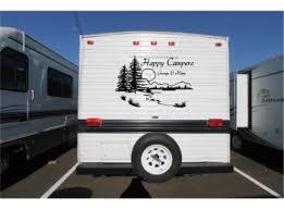 Personalized Lake Landscape Camper Rv Vinyl Decal Sticker Camper Graphics