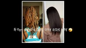 remove dreadlocks without cutting