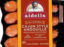 cajun style andouille nutrition facts