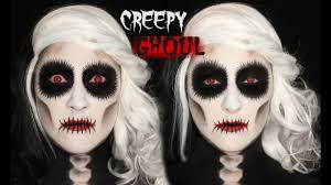 creepy ghoul makeup tutorial 31 days