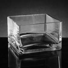 square glass vases bulk whole