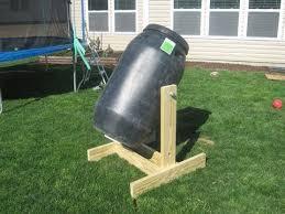 how to make homemade compost tumbler