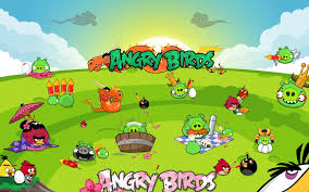 Angry Birds Seasons Party - Phone wallpapers