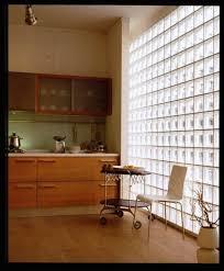 exterior walls glass blocks wall