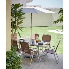 harmonia 6 piece garden dining set