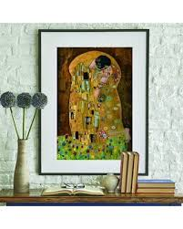 The Best Sales For Caprio The Kiss 1907 By Gustav Klimt Painting Wall Decal Ebern Designs