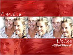 Brett Lee & Wife Liz Wallpaper 2