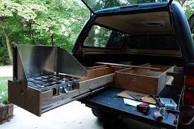truck shell camping how to build the