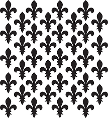 Fleur De Lis Pattern Wall Decal Contemporary Wall Decals By Dana Decals