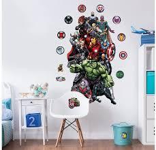 Marvel Hulk Large Character Room Sticker Kit Walltastic