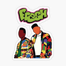 Fresh Prince Stickers Redbubble