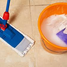 homemade tile cleaner with essential oils