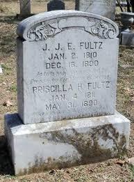 Priscilla Hamilton Fultz (1811-1890) - Find A Grave Memorial