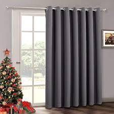 blackout patio door curtains bedroom