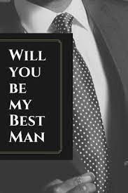 groomsman proposal gift journal