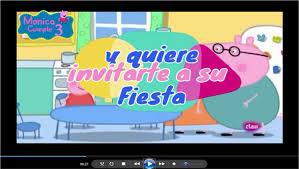 Tarjeta Invitacion Peppa Pig Digital Video Animado 400 00 En