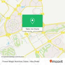 power magic nutrition in dubai by bus