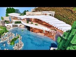 Énnnorme villa de luxe sur minecraft