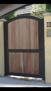 Wood Fence Metal Gate Frame For Wood Fence