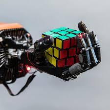 if a robotic hand solves a rubik s cube
