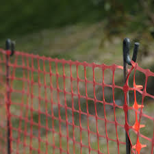 Other Building Materials Plastic Mesh Barrier Safety Fence With Metal Steel Fencing Pins Business Office Industrial Union Cs Co Jp
