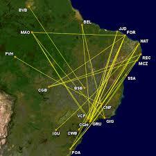 voos domésticos mais longos do brasil
