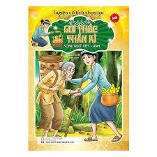 Truyện Cổ Tích Chọn Lọc Song Ngữ Việt Anh - Gùi Thóc Thần Kì