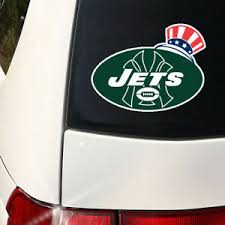 Ny Jets Alt Logo Decal New 8 X 6 Large Indoor Outdoor Ebay