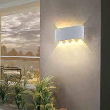 IP65 Chống Nước Đèn 2W 4W 6W LED 8W Nhôm Hiện Đại Treo Tường Đèn Ngoài Trời  Và trang Trí Trong Nhà Nhà Mặt Tiền Sconce|