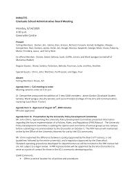 MINUTES Graduate School Administrative Board Meeting Monday, 9/14/2009 3:30  p.m. Greenville Centre