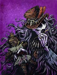 Voodoo Priest by Day of the Dead Artist David Lozeau