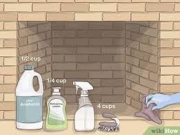 how to clean fireplace bricks 9 steps