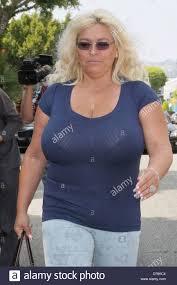 Beth Smith Chapman wife of 'Dog the Bounty Hunter' seen leaving The Stock  Photo - Alamy