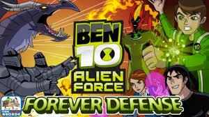 ben 10 alien force forever defense