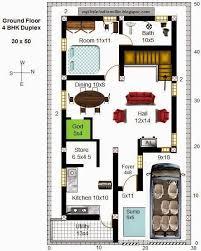 30x50 north facing floor plan