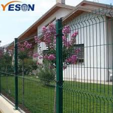China 2019 Good Quality 27 Years Galvanized Pvc Coated Welded Garden Fence Wire Mesh Fence Panels Factory And Manufacturers Yeson